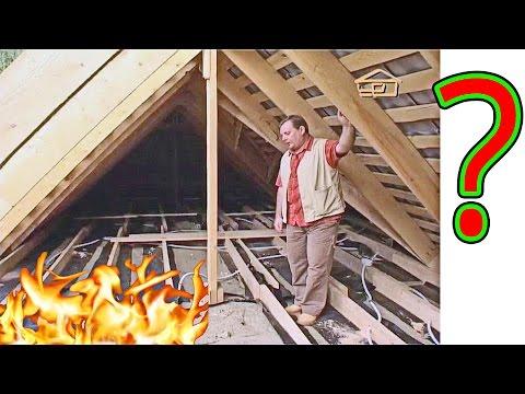 Правильное утепление мансарды и потолка чердака