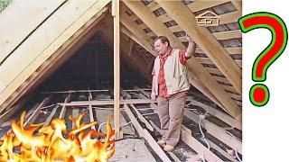 видео Утепление крыши – лучший способ защитить дом от холода и сырости