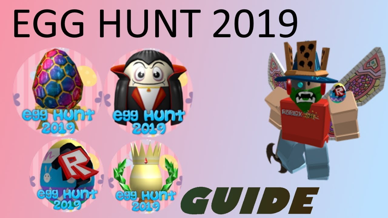 Unofficial Egg Hunt 2019 By Joseph2235 All Eggs Guide Youtube