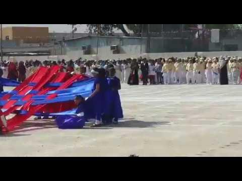 Annual function in Saudi Arabia school