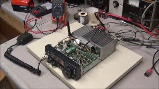 #30 Kenwood TS 50 Part 3 troubleshoot transmitter and repair