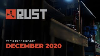Rust S December Update Introduces Tech Trees For Workbenches Pcgamesn