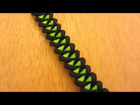 How To Make A Shark Jaw Bone Paracord Bracelet