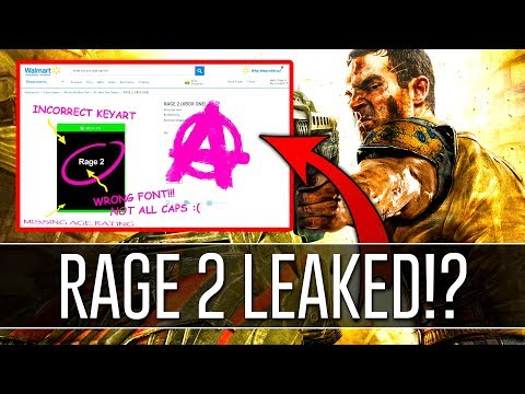 RAGE 2 LEAKED By Walmart Canada Listing - Bethesda Responded!?