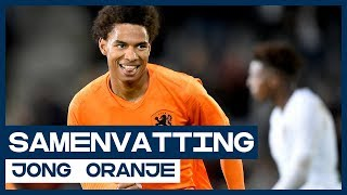 HIGHLIGHTS | Sublieme Stengs helpt Jong Oranje langs Jong Portugal