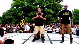 Alpha Phi Alpha Step Off 2010