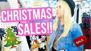AFTER CHRISTMAS SALES!! + GIRLS NIGHT!!!