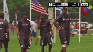 WUCC 2018 - Black Eagles (GBR) vs Stall7 (IND)