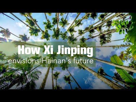 How Xi envisions Hainan's future?