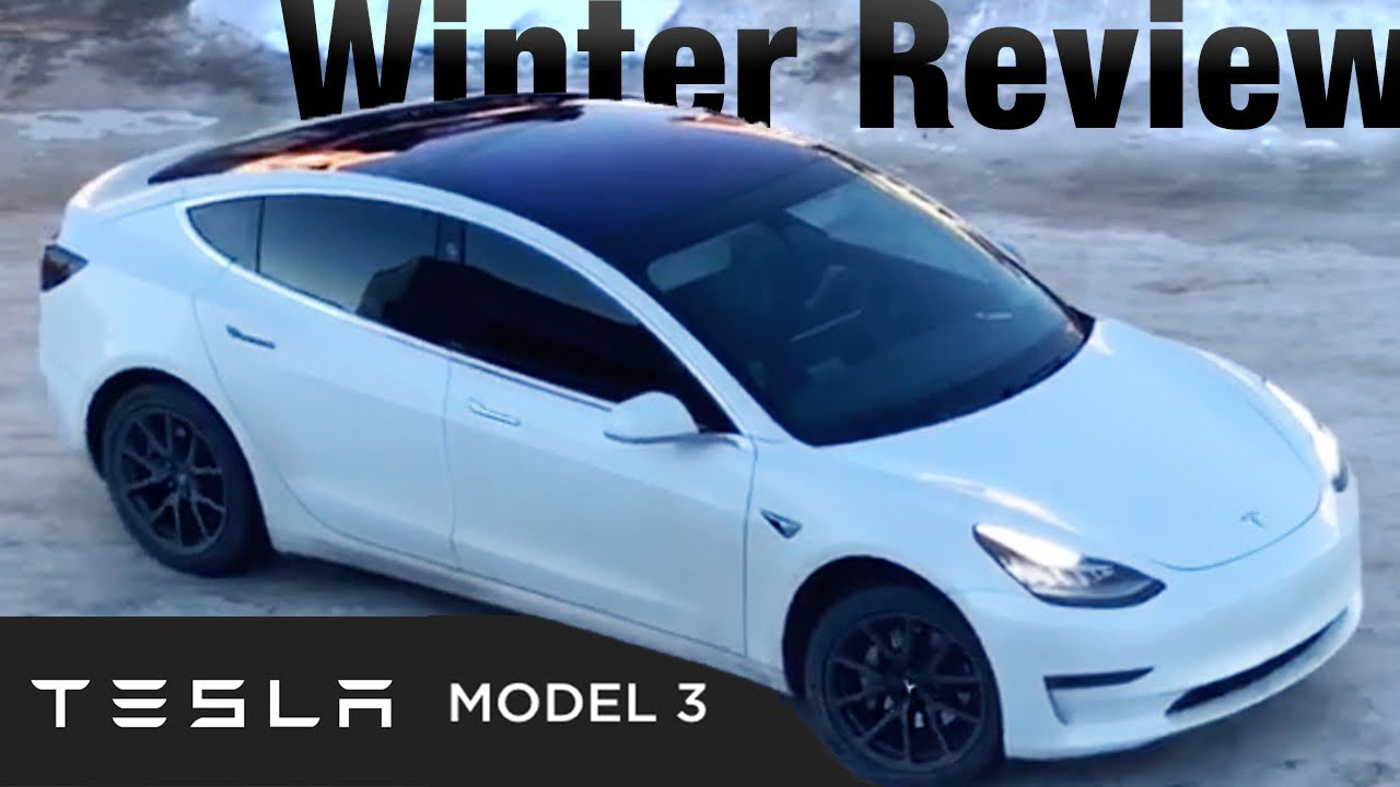 Tesla Model 3 Review Winter Why You Need Long Range Battery