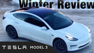 Tesla Model 3 Review (Winter): Why you NEED Long-Range Battery!