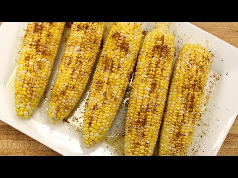 Recipe   Grilled & Seasoned Corn On The Cob