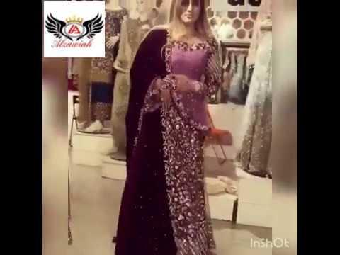 Alzawiah Latest Designer Pakistani Wedding  Gown, legends, Saree, suit 👗 Wedding Dresses