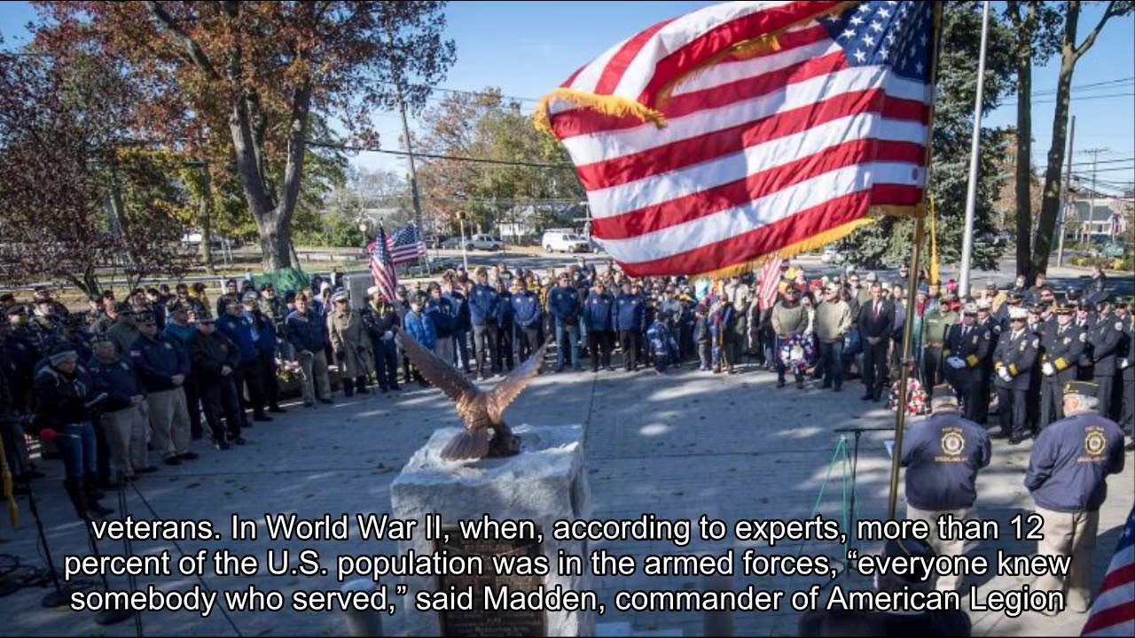 LI Veterans Day ceremony remembers those who've 'given so much'