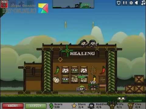 Игра Осада в городе 3: Осада джунглей Онлайн