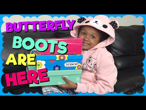Butterfly Boots ARE HERE ~ Zulily Haul Part 2 ~ Family Vlog