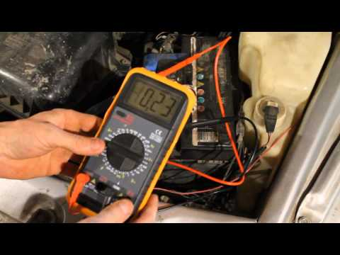 Как обнаружить утечку тока на ВАЗ 21102