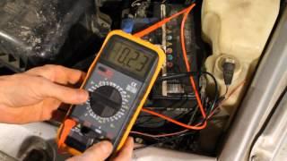 Как обнаружить утечку тока на ВАЗ 21102(Описание., 2014-09-17T17:24:22.000Z)