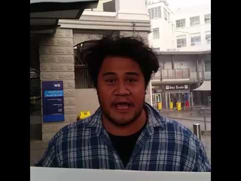 Samoan weather man
