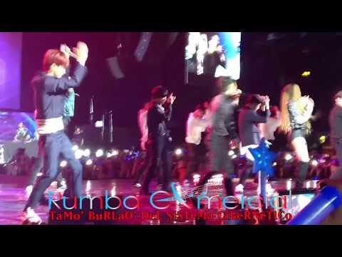Super Junior 슈퍼주니어 Ft Leslie Grace - Lo Siento (Luna Park, Argentina) [RumbaComercial Com]
