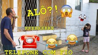 FIZEMOS UM TELEFONE COM FIO