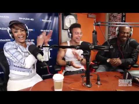 Cast of 'Chocolate City' Vivica Fox, Robert Ri'chard and Darrin Henson Visits Sway in the Morning