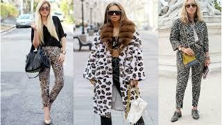 АНИМАЛИСТИЧЕСКИЙ ПРИНТ В ОДЕЖДЕ модные образы с леопардовым и змеиным принтом