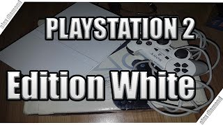 ps2 белая приставка/limited Edition Whie PlayStation 2 Sing Star Bundle PS2