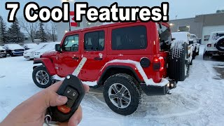 7 Cool 2020 Jeep Wrangler Features!