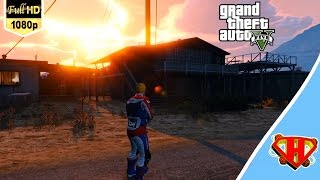 حرامي السيارات 5 تجربة فريق الموت - Grand Theft Auto V PC Team Deathmatch
