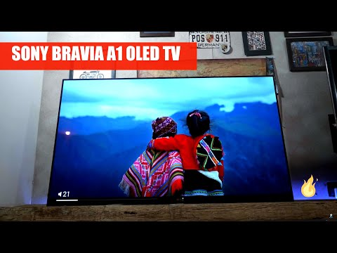 Sony Bravia OLED A1 KD-55A1 4K Android TV First Look