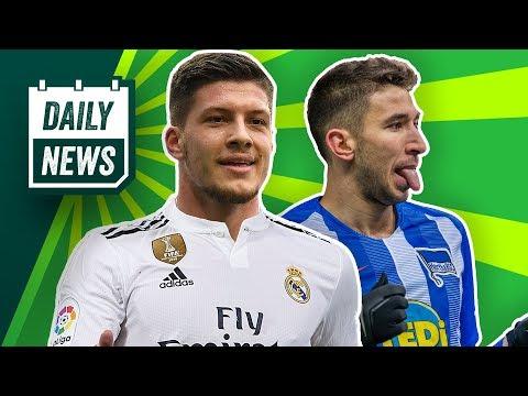 Chaos beim HSV! Luka Jovic zu Real Madrid schon fix? Neue Trikots von Gladbach, Ajax und United!