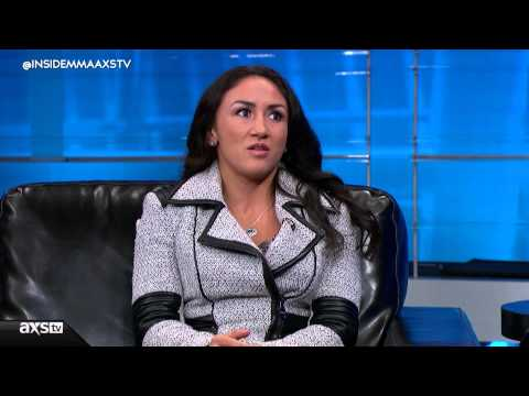 Rafael Dos Anjos and Carla Esparza Talk UFC 185