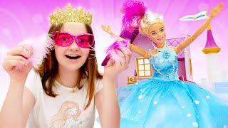 видео: Барби стала принцессой. Игры одевалки для девочек: Будет исполнено.
