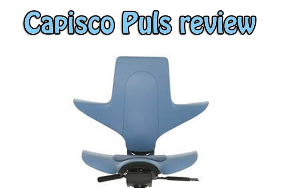 hag capisco puls ergonomic saddle office chair review - youtube