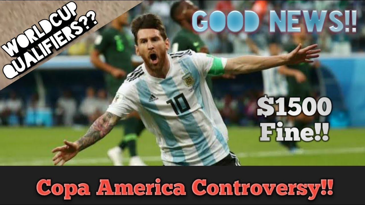 Messi's red card controversy | Good News | News After controversy | copa america 2019 | 6