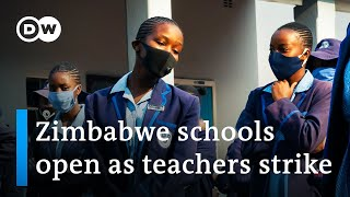 Zimbabwe teachers strike as schools open in COVID's wake | DW News