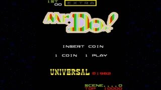 Mr. Do! 1982 Universal Mame Retro Arcade Games