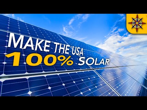 What Would It Take To Go 100% Solar?