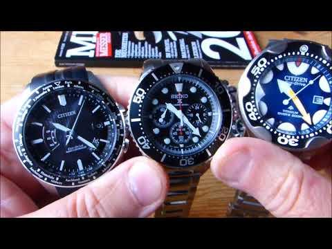 Seiko Citizen TAWATEC (Meine EDC Uhren) (Nachtablesbarkeit)