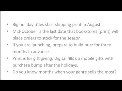 Preparing NOW for Fall Bookselling Success
