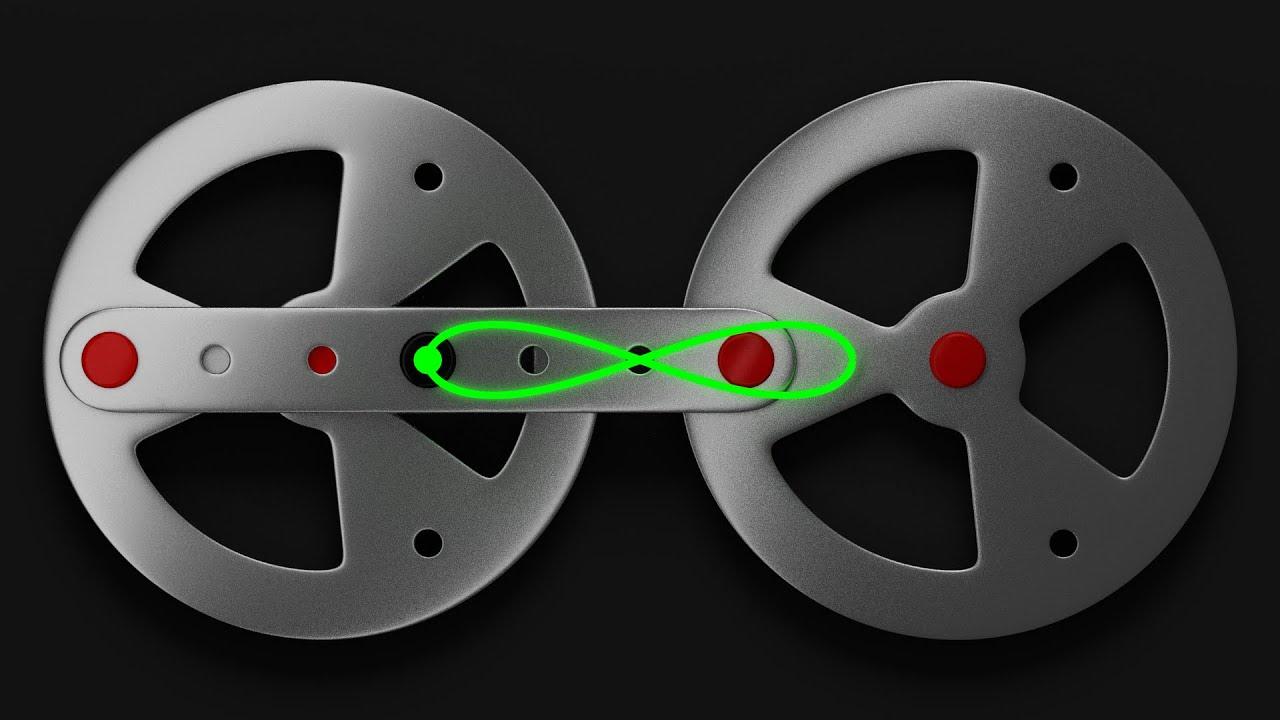 two wheels linkage mechanism