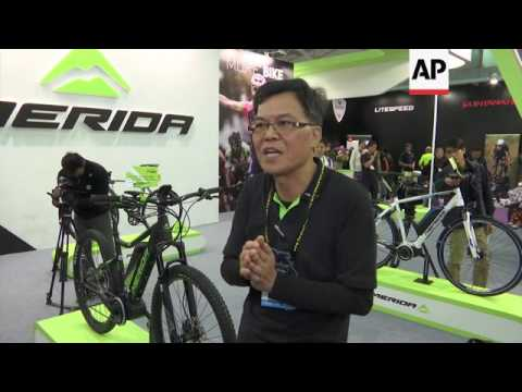 Taipei cycle show pushing for powered pedal power