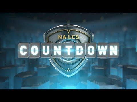 NA LCS COUNTDOWN - Week 1 Day 2 (Summer 2018)