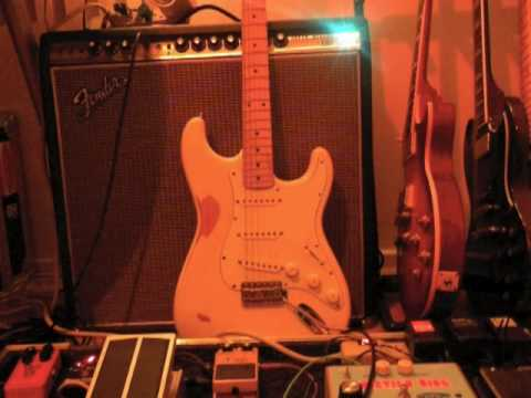 Fender Super Reverb, Oxfuzz, MJM Phantom Overdrive, '60s Vibe & Eventide Timefactor