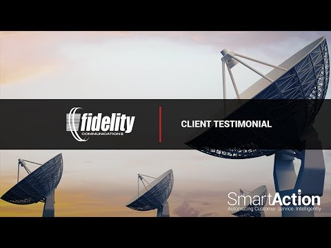 Learn About How SmartAction Delivered The 'Total Solution' For Fidelity Communications