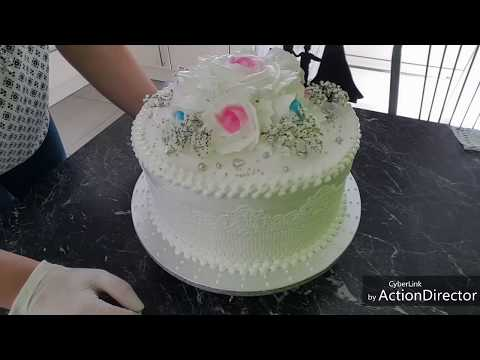 Prostoe Oformlenie Svadebnogo Torta Bzk Hochzeitstorte Youtube
