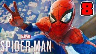 Spider-Man PL (08) - ZAMACH NA BURMISTRZA! [PS4 PRO] | 4K | Vertez