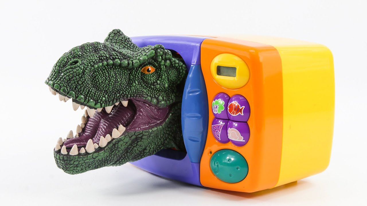 Dinosaurs appeared, transformed into a magic microwave oven