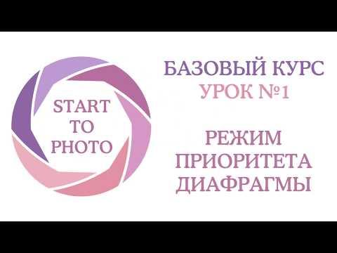 Урок 1. Фотосъемка